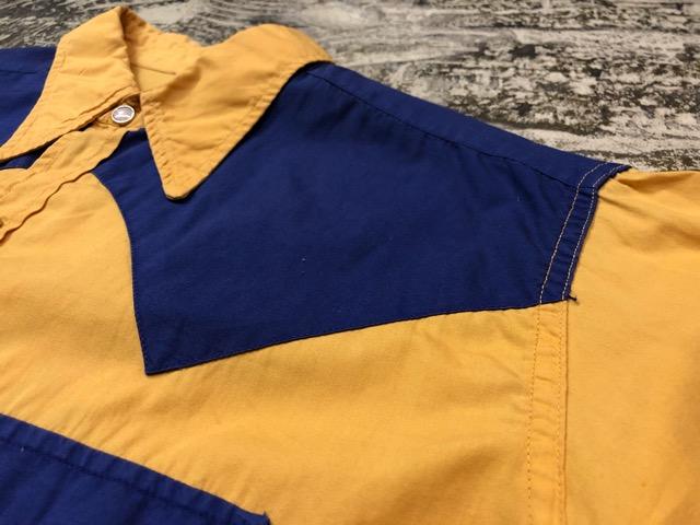 5月8日(水)マグネッツ大阪店、夏ヴィンテージ&スニーカー入荷!! #9 VintageShirt編! 40\'s RopingStitch & BoxShirt!!_c0078587_1581923.jpg