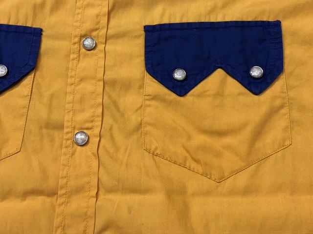 5月8日(水)マグネッツ大阪店、夏ヴィンテージ&スニーカー入荷!! #9 VintageShirt編! 40\'s RopingStitch & BoxShirt!!_c0078587_1582985.jpg