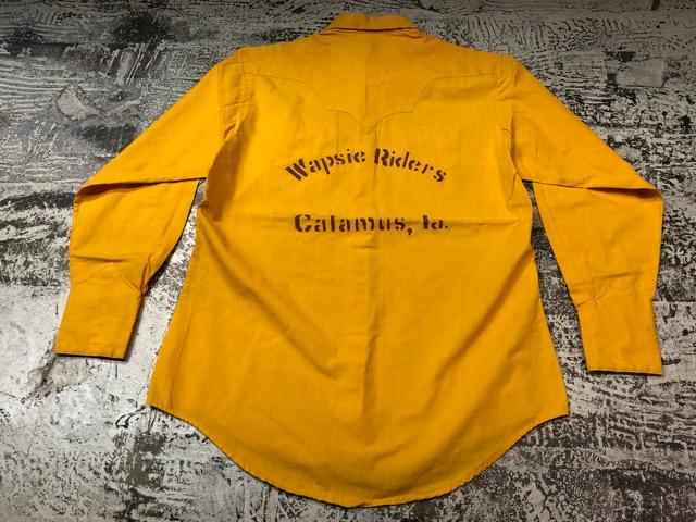 5月8日(水)マグネッツ大阪店、夏ヴィンテージ&スニーカー入荷!! #9 VintageShirt編! 40\'s RopingStitch & BoxShirt!!_c0078587_201375.jpg