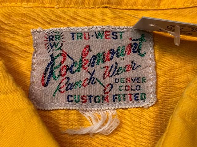 5月8日(水)マグネッツ大阪店、夏ヴィンテージ&スニーカー入荷!! #9 VintageShirt編! 40\'s RopingStitch & BoxShirt!!_c0078587_202066.jpg