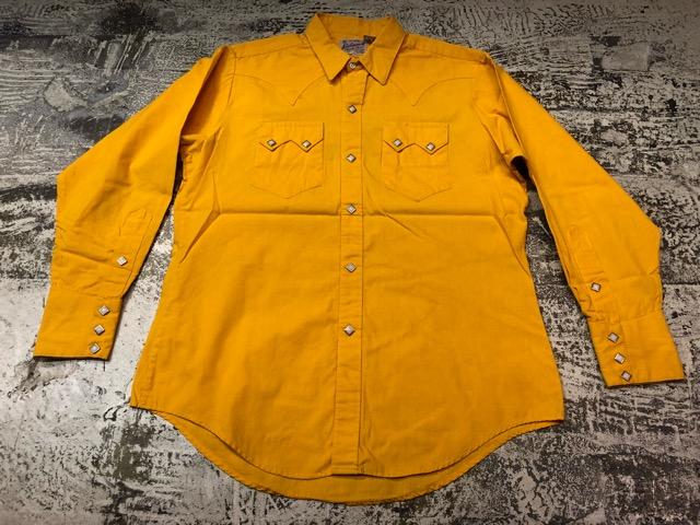 5月8日(水)マグネッツ大阪店、夏ヴィンテージ&スニーカー入荷!! #9 VintageShirt編! 40\'s RopingStitch & BoxShirt!!_c0078587_20485.jpg