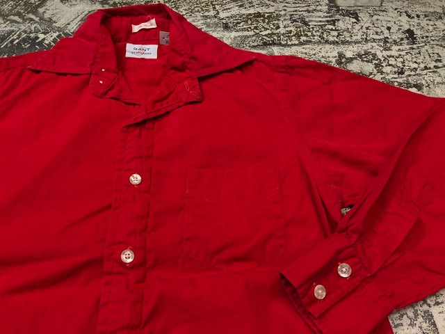 5月8日(水)マグネッツ大阪店、夏ヴィンテージ&スニーカー入荷!! #9 VintageShirt編! 40\'s RopingStitch & BoxShirt!!_c0078587_210171.jpg