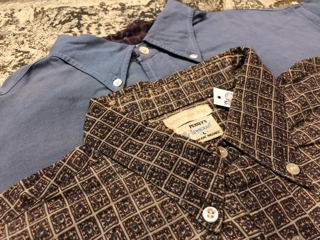 5月8日(水)マグネッツ大阪店、夏ヴィンテージ&スニーカー入荷!! #9 VintageShirt編! 40\'s RopingStitch & BoxShirt!!_c0078587_2114220.jpg