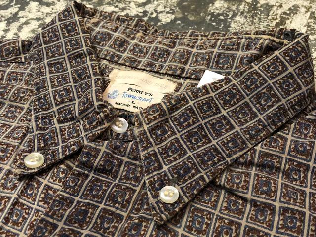 5月8日(水)マグネッツ大阪店、夏ヴィンテージ&スニーカー入荷!! #9 VintageShirt編! 40\'s RopingStitch & BoxShirt!!_c0078587_2132624.jpg