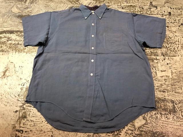 5月8日(水)マグネッツ大阪店、夏ヴィンテージ&スニーカー入荷!! #9 VintageShirt編! 40\'s RopingStitch & BoxShirt!!_c0078587_2134982.jpg