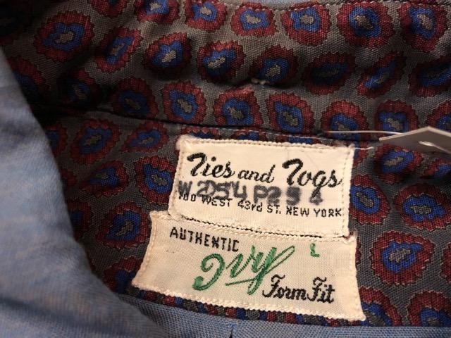 5月8日(水)マグネッツ大阪店、夏ヴィンテージ&スニーカー入荷!! #9 VintageShirt編! 40\'s RopingStitch & BoxShirt!!_c0078587_214738.jpg