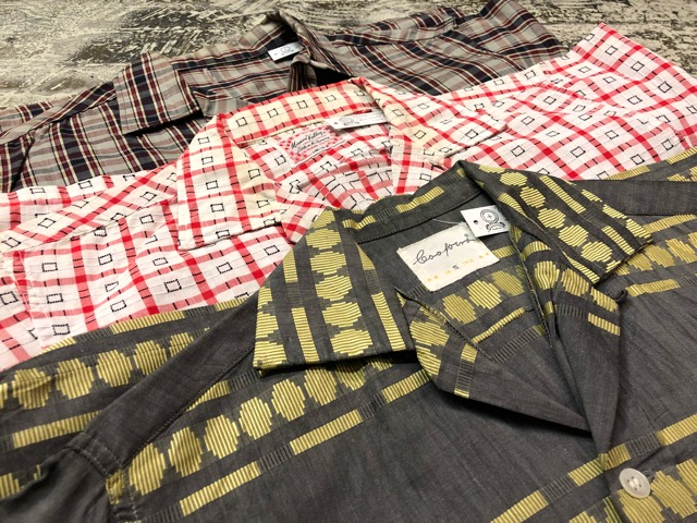 5月8日(水)マグネッツ大阪店、夏ヴィンテージ&スニーカー入荷!! #9 VintageShirt編! 40\'s RopingStitch & BoxShirt!!_c0078587_2212100.jpg