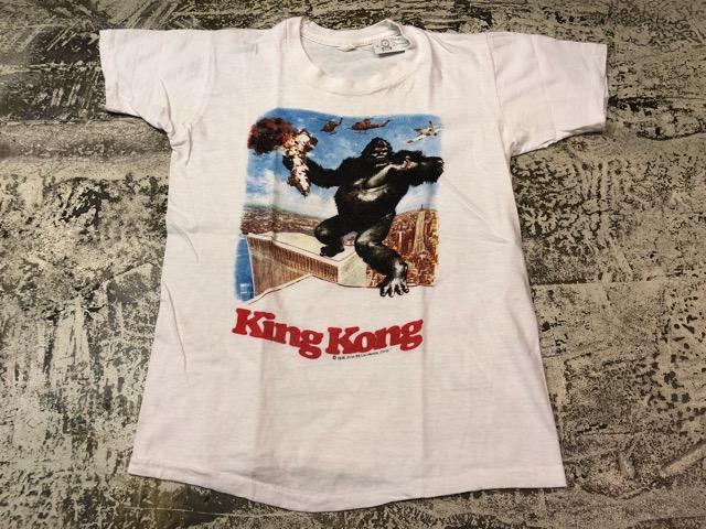 5月8日(水)マグネッツ大阪店、夏ヴィンテージ&スニーカー入荷!! #6 VintagePrintTeeShirt編! Budweiser & KingKongFilm!!_c0078587_2221933.jpg