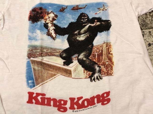 5月8日(水)マグネッツ大阪店、夏ヴィンテージ&スニーカー入荷!! #6 VintagePrintTeeShirt編! Budweiser & KingKongFilm!!_c0078587_2225833.jpg