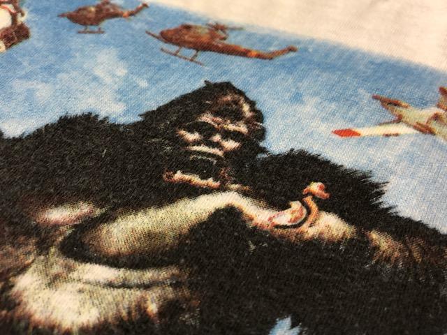 5月8日(水)マグネッツ大阪店、夏ヴィンテージ&スニーカー入荷!! #6 VintagePrintTeeShirt編! Budweiser & KingKongFilm!!_c0078587_223720.jpg
