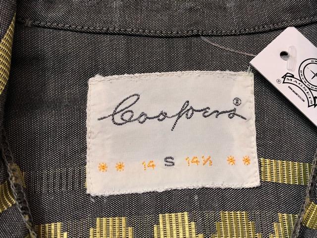 5月8日(水)マグネッツ大阪店、夏ヴィンテージ&スニーカー入荷!! #9 VintageShirt編! 40\'s RopingStitch & BoxShirt!!_c0078587_224163.jpg