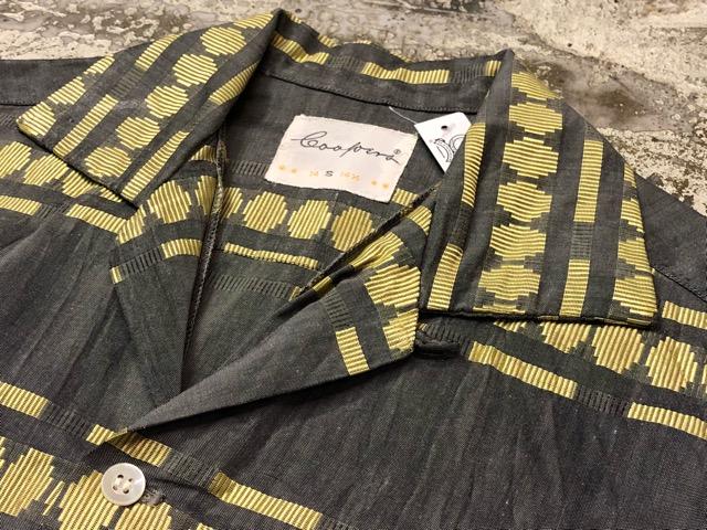 5月8日(水)マグネッツ大阪店、夏ヴィンテージ&スニーカー入荷!! #9 VintageShirt編! 40\'s RopingStitch & BoxShirt!!_c0078587_231556.jpg