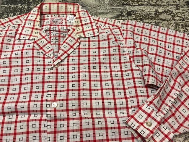 5月8日(水)マグネッツ大阪店、夏ヴィンテージ&スニーカー入荷!! #9 VintageShirt編! 40\'s RopingStitch & BoxShirt!!_c0078587_242920.jpg
