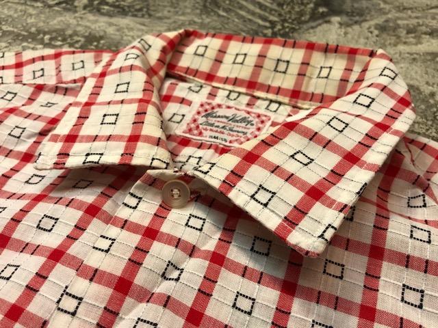 5月8日(水)マグネッツ大阪店、夏ヴィンテージ&スニーカー入荷!! #9 VintageShirt編! 40\'s RopingStitch & BoxShirt!!_c0078587_243834.jpg
