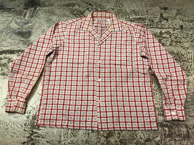 5月8日(水)マグネッツ大阪店、夏ヴィンテージ&スニーカー入荷!! #9 VintageShirt編! 40\'s RopingStitch & BoxShirt!!_c0078587_24592.jpg
