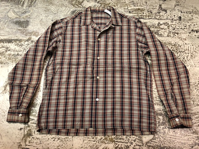 5月8日(水)マグネッツ大阪店、夏ヴィンテージ&スニーカー入荷!! #9 VintageShirt編! 40\'s RopingStitch & BoxShirt!!_c0078587_254632.jpg