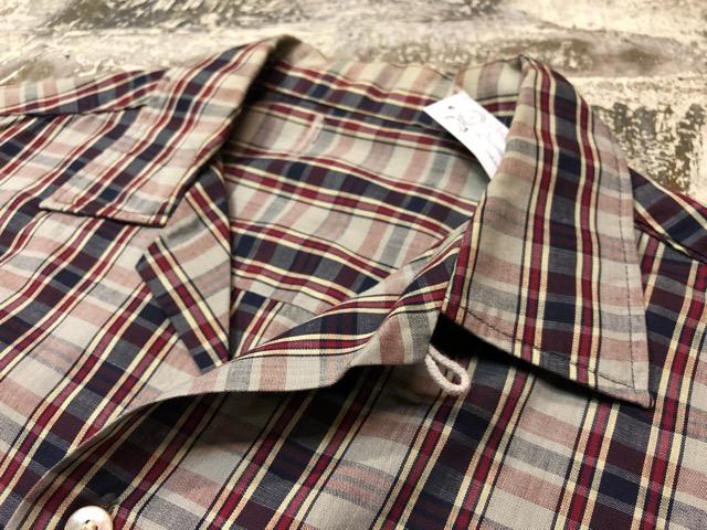 5月8日(水)マグネッツ大阪店、夏ヴィンテージ&スニーカー入荷!! #9 VintageShirt編! 40\'s RopingStitch & BoxShirt!!_c0078587_261294.jpg