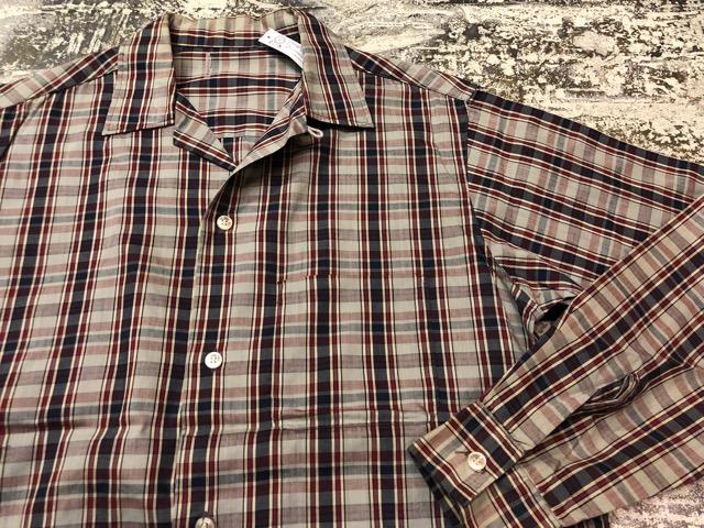 5月8日(水)マグネッツ大阪店、夏ヴィンテージ&スニーカー入荷!! #9 VintageShirt編! 40\'s RopingStitch & BoxShirt!!_c0078587_26381.jpg