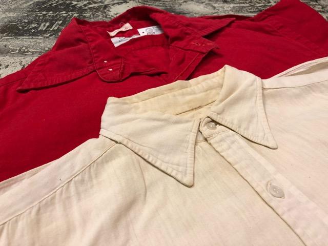 5月8日(水)マグネッツ大阪店、夏ヴィンテージ&スニーカー入荷!! #9 VintageShirt編! 40\'s RopingStitch & BoxShirt!!_c0078587_27729.jpg