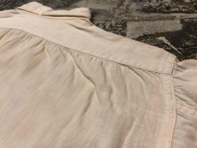 5月8日(水)マグネッツ大阪店、夏ヴィンテージ&スニーカー入荷!! #9 VintageShirt編! 40\'s RopingStitch & BoxShirt!!_c0078587_293841.jpg