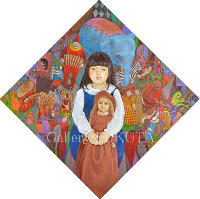 「結城智子 絵画展」開催中です。_c0161127_15342610.jpg