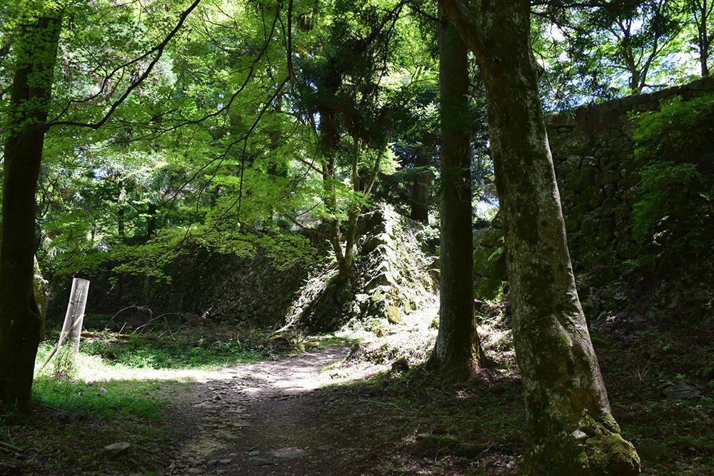 日本最大の山城、高取城登城記。 その4 <大手門~二ノ丸>_e0158128_11414422.jpg