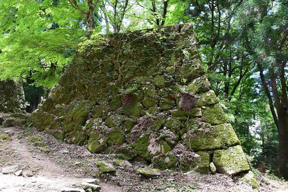 日本最大の山城、高取城登城記。 その4 <大手門~二ノ丸>_e0158128_11485732.jpg