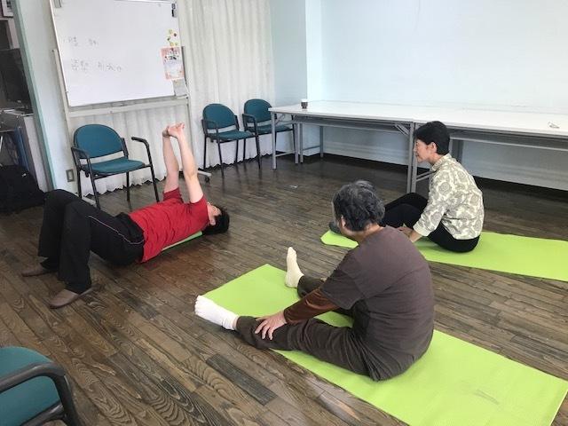 懐メロ体操&健康教室_c0113948_14422700.jpg