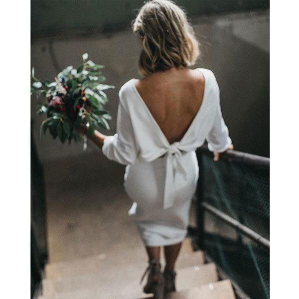 ファッションとランジェリー(3) -背中で魅せる!オープンバックに合うランジェリー_e0219353_11440675.jpg