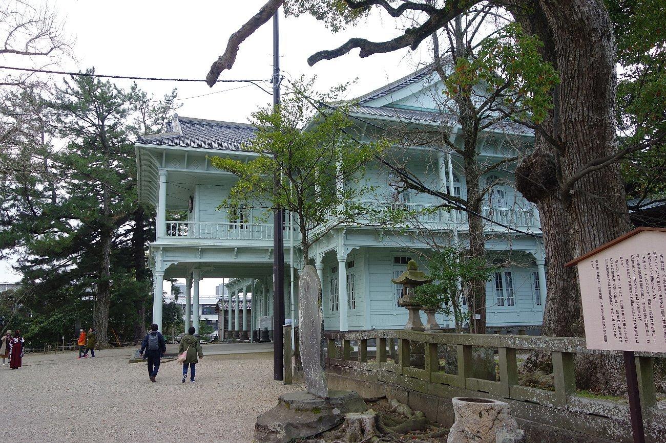 松江城山公園 興雲閣_c0112559_07490709.jpg
