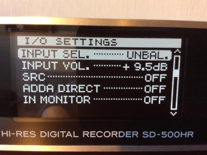 TEAC のハイレゾ・マスターレコーダー SD-500HR を使ってみました。_b0292692_16243200.jpg