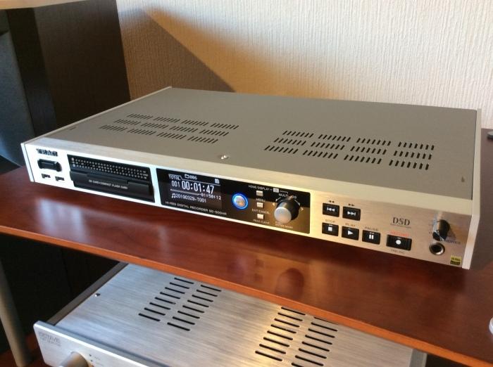 TEAC のハイレゾ・マスターレコーダー SD-500HR を使ってみました。_b0292692_16243469.jpg