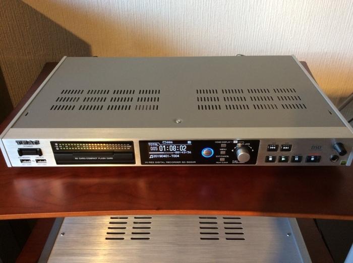 TEAC のハイレゾ・マスターレコーダー SD-500HR を使ってみました。_b0292692_17260082.jpg