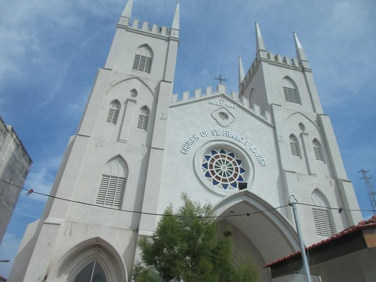 聖フランシスコ・ザビエル教会(マラッカ)_c0212604_21374131.jpg