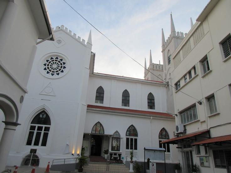 聖フランシスコ・ザビエル教会(マラッカ)_c0212604_21473495.jpg