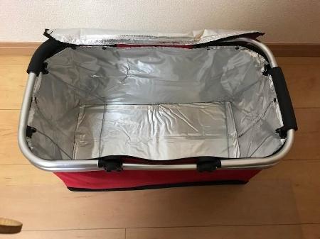 遠征にとっても便利な LUISUI 折りたたみピクニックかご_c0061727_23271595.jpg