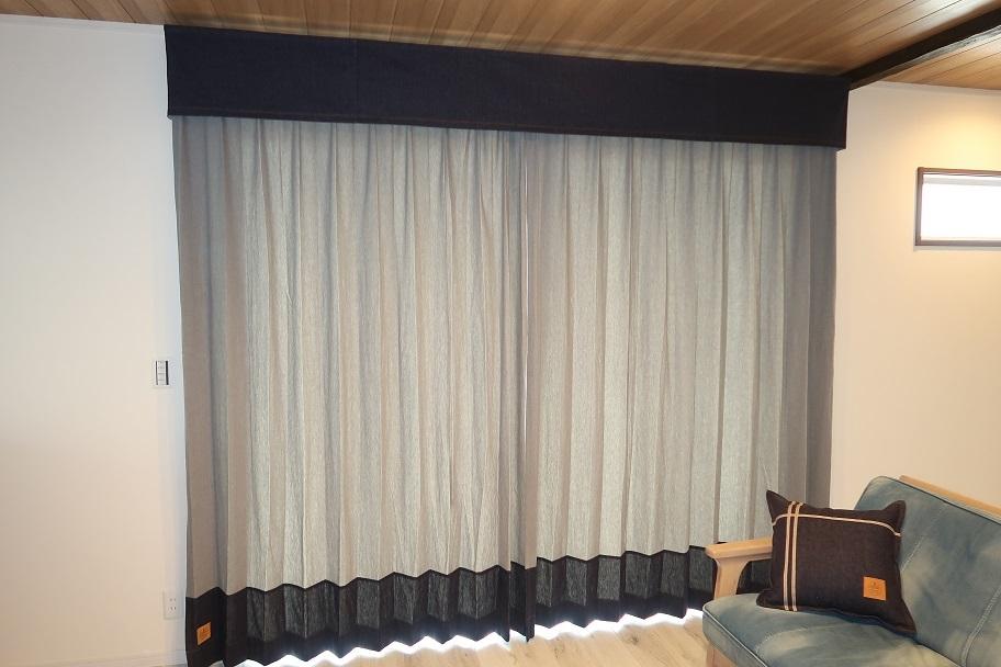 本格デニム生地でカーテンが作れます_e0133255_18315906.jpg