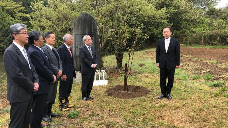2019.5.1 広野町 新天皇即位並びに改元記念植樹式_a0255967_10162251.jpg