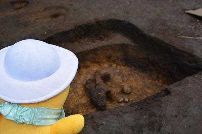 発掘!!村最大級の竪穴住居跡なのだ!_c0259934_11080113.jpg