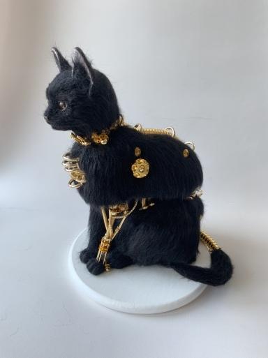 チャチャキ ナナ  「ありがとう 猫」展_f0222045_16540684.jpeg