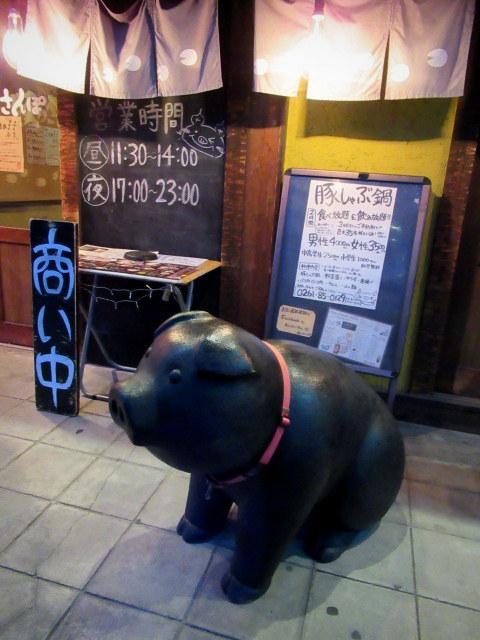②GW/立山黒部・雪の大谷へ * 豚肉料理専門店・豚のさんぽ♪_f0236260_00313414.jpg