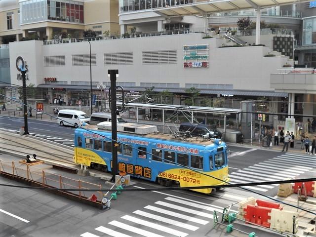 藤田八束の鉄道写真@街づくりと路面電車、天王寺と堺市を結ぶ路面電車・阪堺電車の笑顔が素晴らしい_d0181492_21203309.jpg
