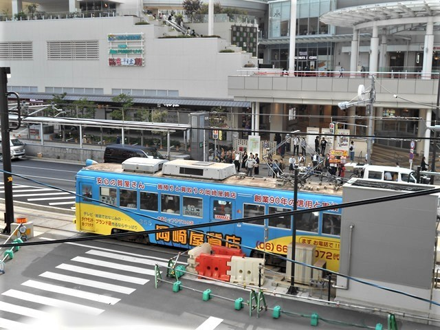 藤田八束の鉄道写真@街づくりと路面電車、天王寺と堺市を結ぶ路面電車・阪堺電車の笑顔が素晴らしい_d0181492_21204286.jpg