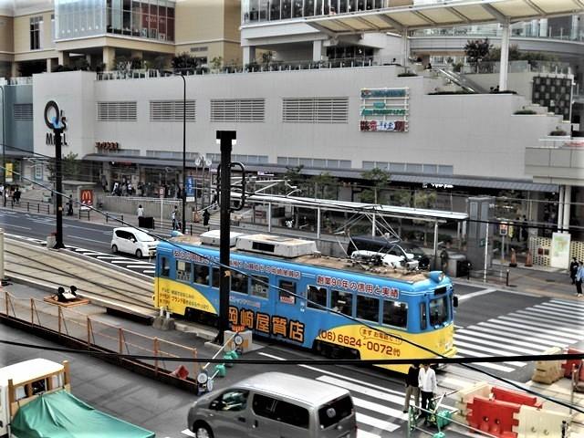 藤田八束の鉄道写真@街づくりと路面電車、天王寺と堺市を結ぶ路面電車・阪堺電車の笑顔が素晴らしい_d0181492_21205047.jpg