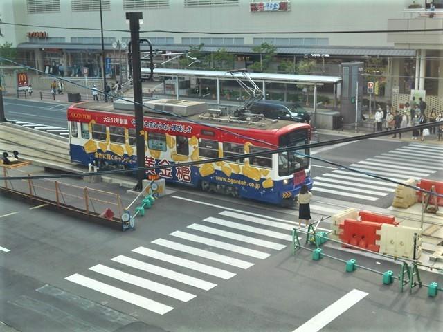 藤田八束の鉄道写真@街づくりと路面電車、天王寺と堺市を結ぶ路面電車・阪堺電車の笑顔が素晴らしい_d0181492_21220951.jpg