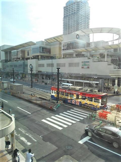 藤田八束の鉄道写真@街づくりと路面電車、天王寺と堺市を結ぶ路面電車・阪堺電車の笑顔が素晴らしい_d0181492_21222675.jpg
