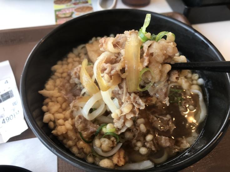 ロカボ牛麺@すき家(350kcal)_c0212604_135553.jpg