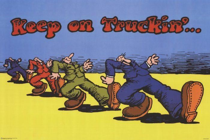 「 KEEP ON TRUCKIN'... 」_c0078333_20310244.jpeg