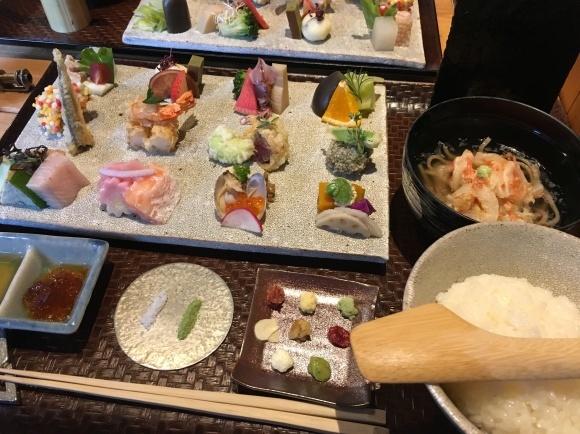 京都でランチ「手織り寿司」_e0251265_12213866.jpg