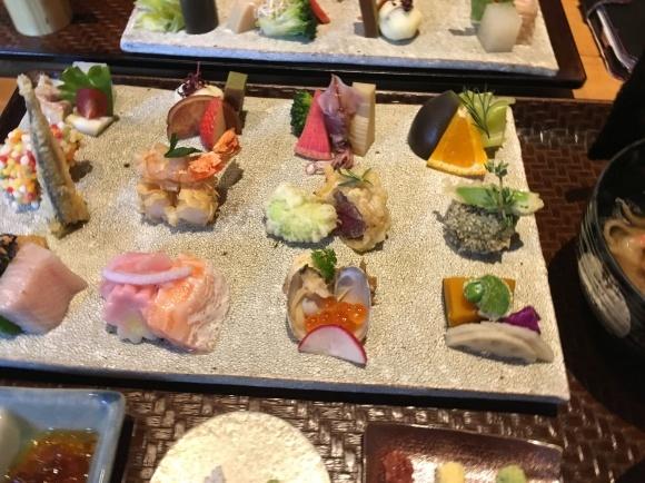京都でランチ「手織り寿司」_e0251265_12214358.jpg